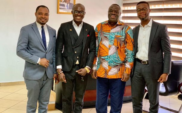 ATIGs Ghana meets Minister of Business and Development