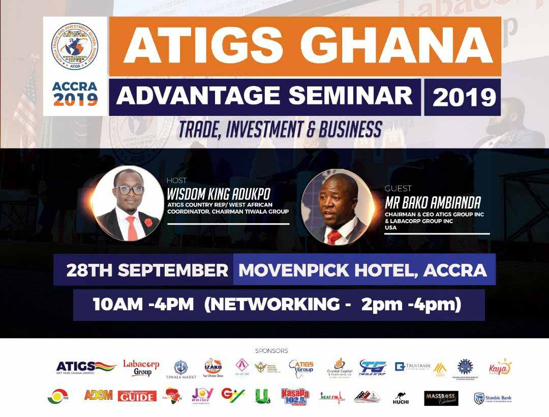 ATIGS to Host Its Trade & Investment Seminar This September