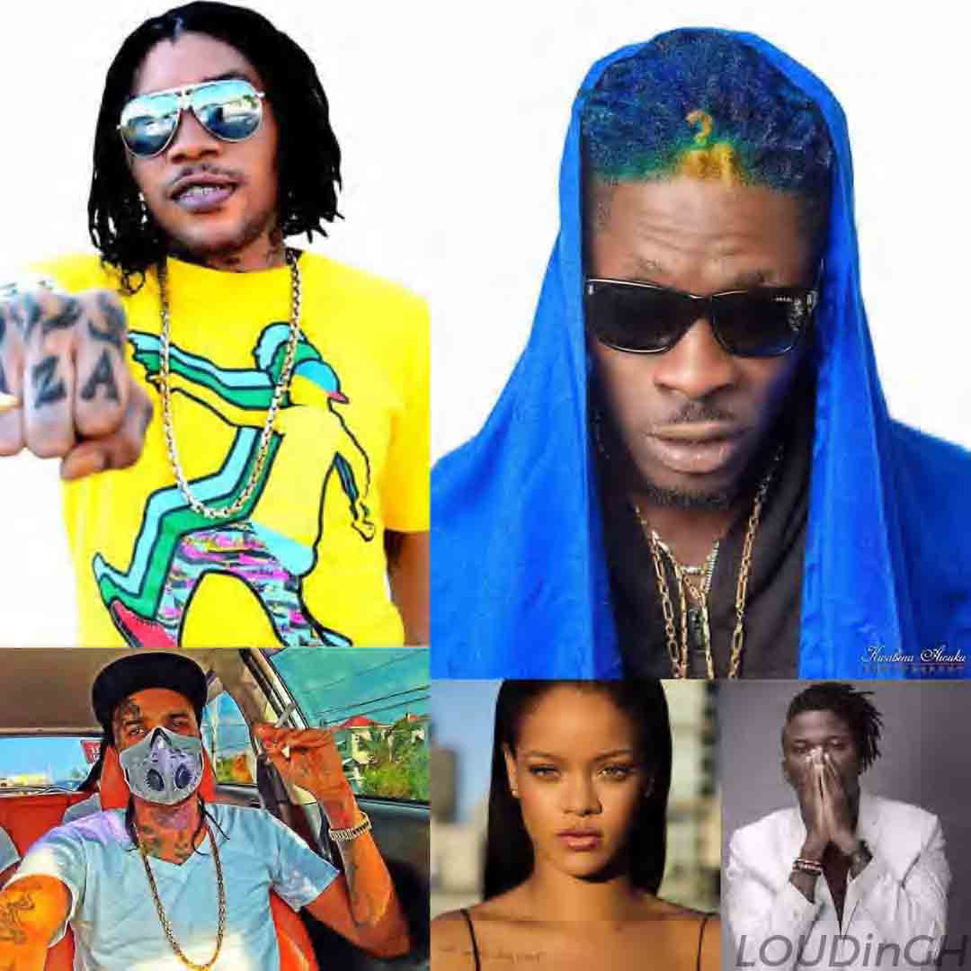 Shatta Wale Ranked 2nd Best Dancehall Artist In The World