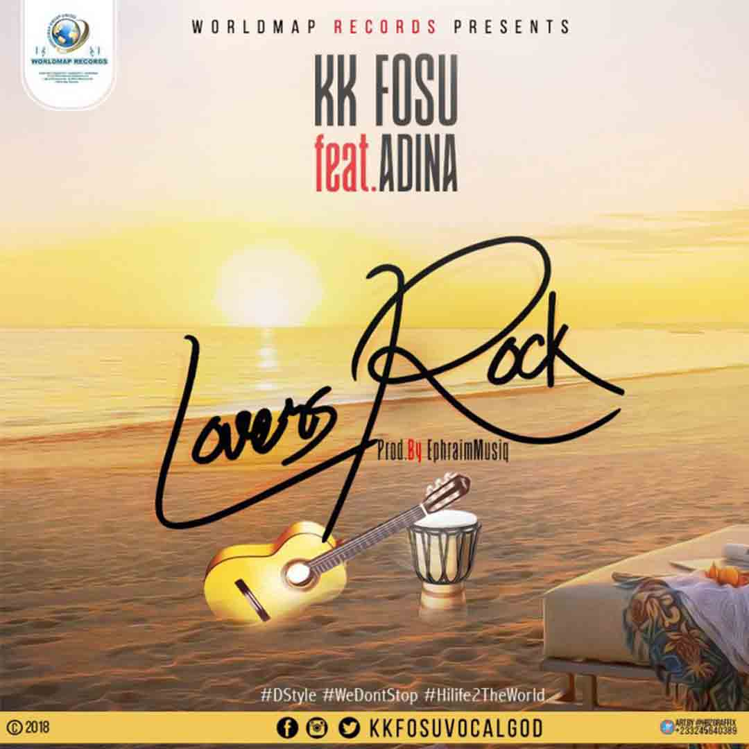 KK Fosu ft Adina - Lovers Rock (Prod by Ephraim) [www.LOUDinGH.com]