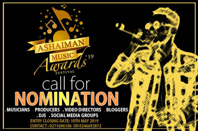 Nomination Process For ASHAIMAN MUSIC AWARDS 2019 Extended