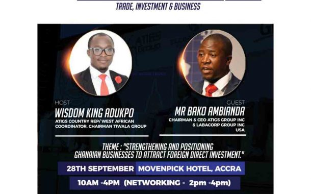 CEOS,Business Gurus Storm Movenpic Ahead Of ATIGS Summit
